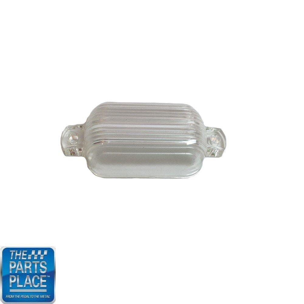 1966-73 GM Cars License Plate Lamp Lens