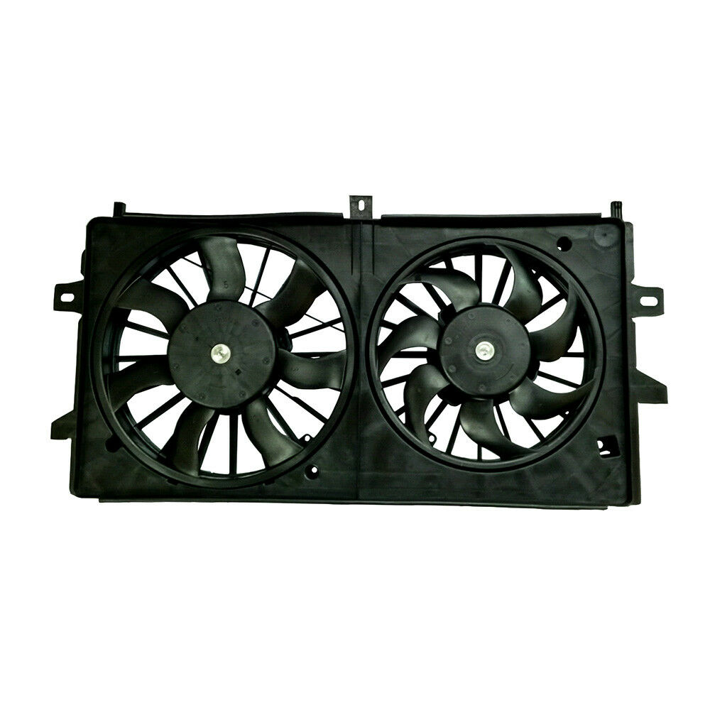 DUAL RADIATOR//AC COOLING FAN GM3115187 FOR 06-11 CHEVY IMPALA  06-07 MONTE CARLO