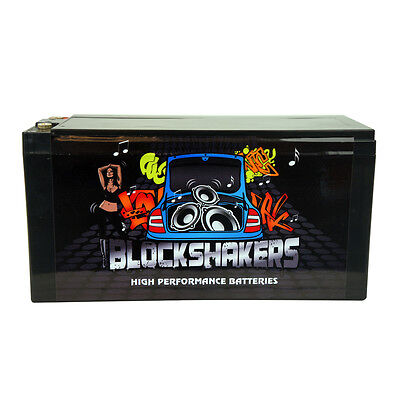 Blockshakers 16 Volt Power Cell Car Audio Battery High Current 1600A KHC16V