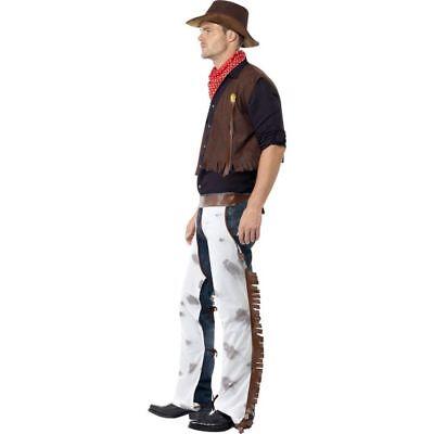 Smi - Western Herren Kostüm Rodeo Cowboy Fasching (Herren Rodeo Cowboy Kostüm)