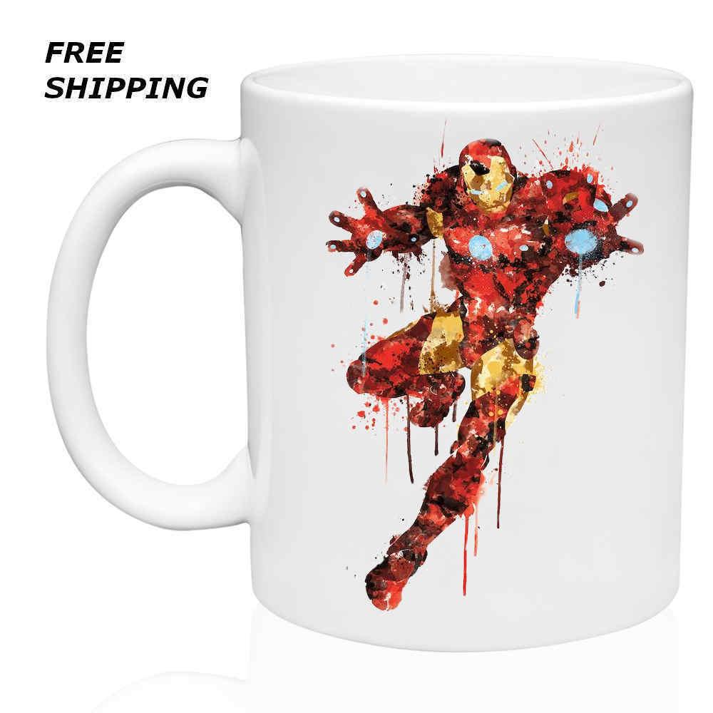 Art Iron Man, Avenger, Coffee-Tea  Mug 11oz, Gift