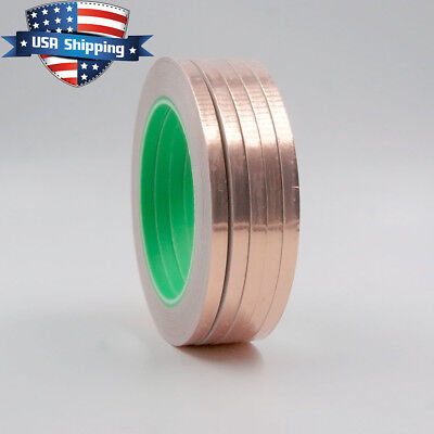 5pcs Copper Foil Tape - 14in X 28yds - Emi Conductive Adhesive