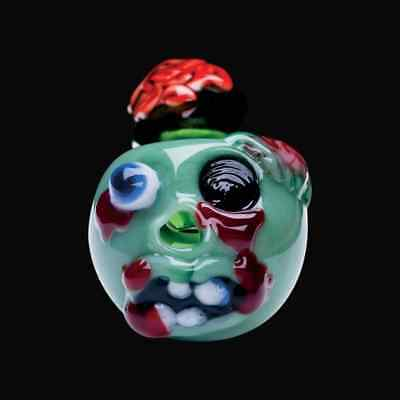 Chameleon Glass Zombie Glass Pipe (Zombie Glass)