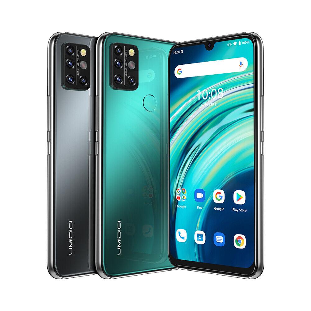 Android Phone - UMIDIGI A9 Pro Smartphone Factory Unlocked 6.3'' 6GB+128GB Quad Camera Phones