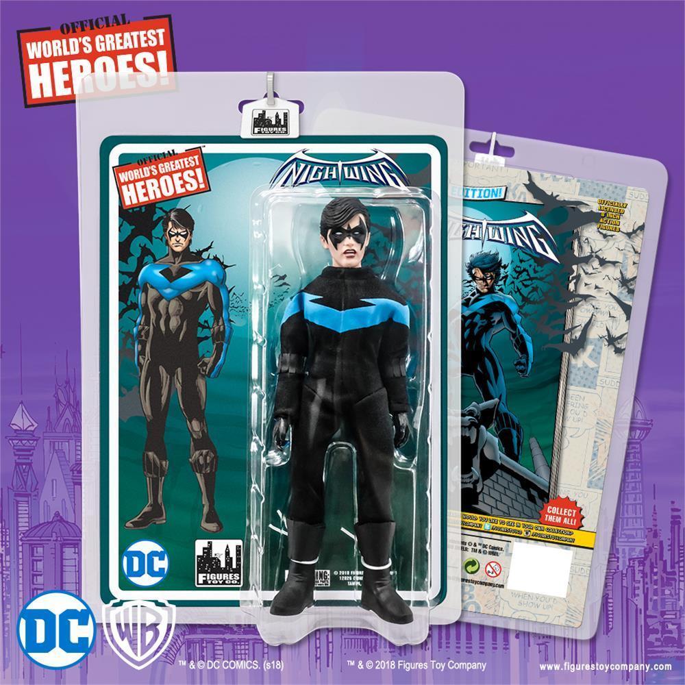 Action Figure Rétro Mego Nouveau FTC environ 20.32 cm Teen Titans AQUALAD 8 in