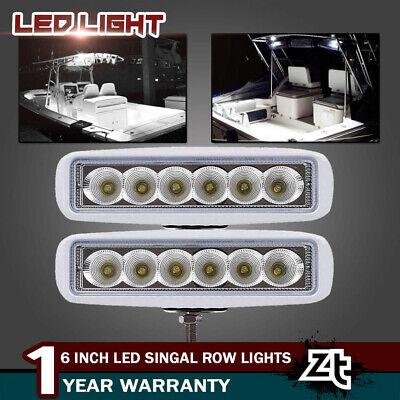 - Spreader Led Light Marine T-Top Dock Lights Flood Beam (White Set of 2) 6 LEDS