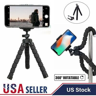 Mini Cell Phone Holder Flexible Octopus Tripod Bracket Stand For iphone Camera