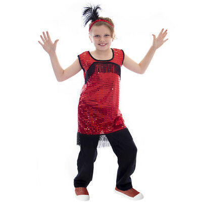 1920s Flapper Halloween Costume | Roaring Twenties Children's Dress Up - Roaring Twenties Halloween Costumes