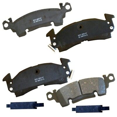 Disc Brake Pad Set-Stop Ceramic Brake Pad Front,Rear Bendix SBC52 Chevrolet C20 Bendix Brake