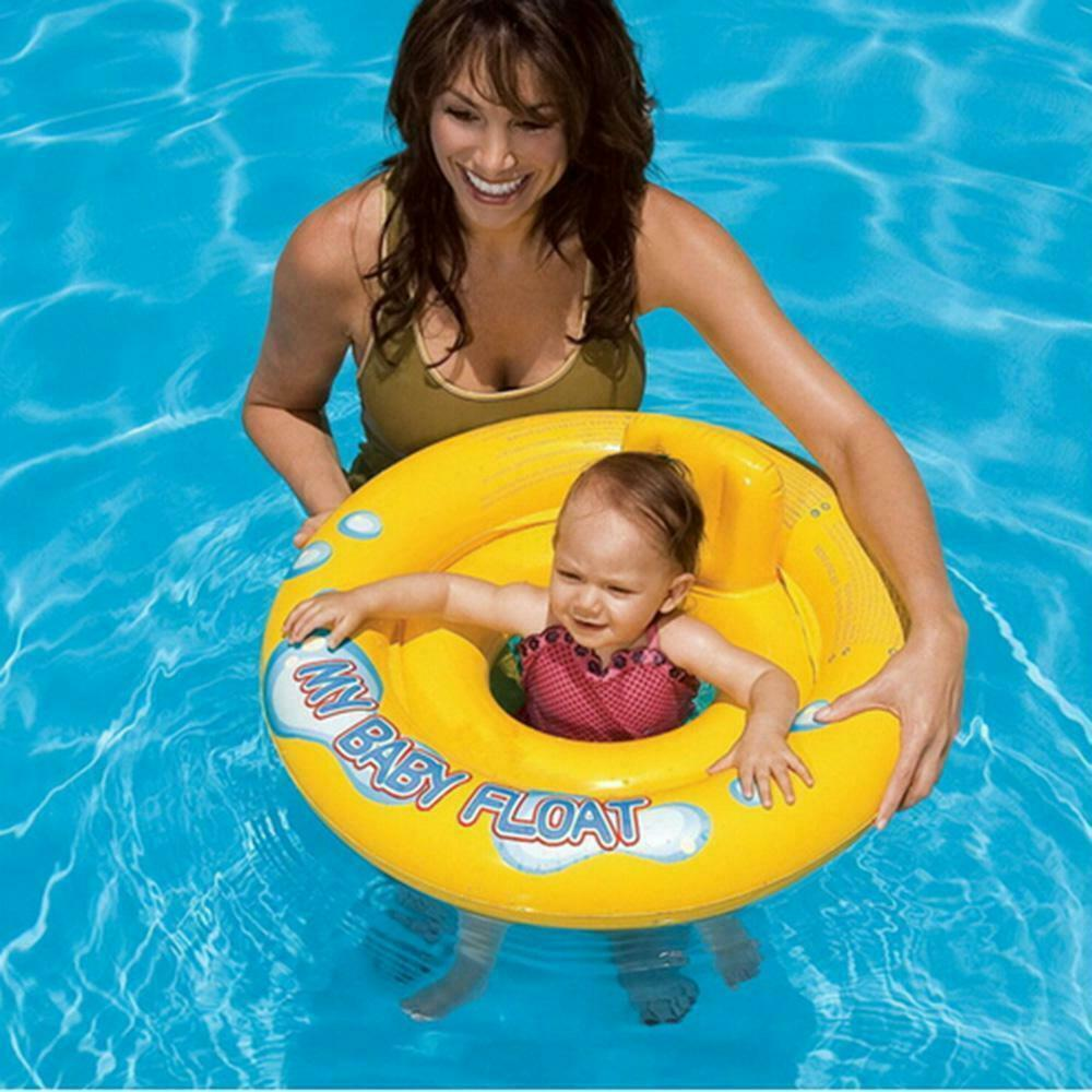 My Baby Float Swimming Swim Ring Pool Infant Chair Lounge With Backrest INTEX - $12.95