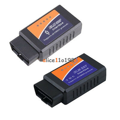 ELM327 WiFi Bluetooth OBD2 OBDII Car Diagnostic Scanner Code Reader Tool for IOS