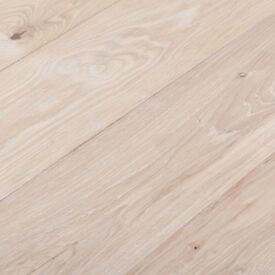 Solid Oak Shades Flooring - Extra White - Per m2