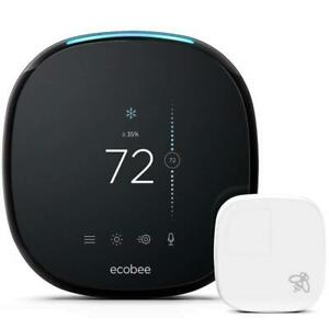 NEW ecobee4 Alexa-Enabled Thermostat with Sensor Condtion: New Open Box, ecobee4