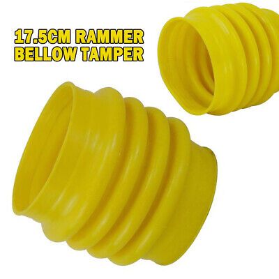 New Jumping Jack Bellows Boot 6.8 17.5cm Dia. To Wacker Rammer Compactor Tamper