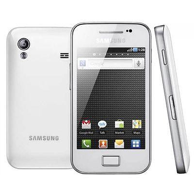 Samsung GALAXY Ace GT-S5830i Sim Free Unlocked - White - ANDROID Smartphone