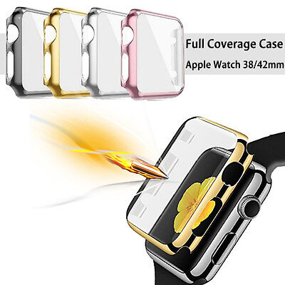 Apple Watch Series 1 2 3 38 42Mm Full Body Cover Snap On Case   Screen Protector