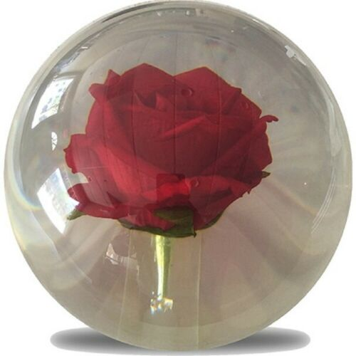 14lb KR Strikeforce Clear ROSE Polyester OTB Bowling Ball FIRST QUALITY