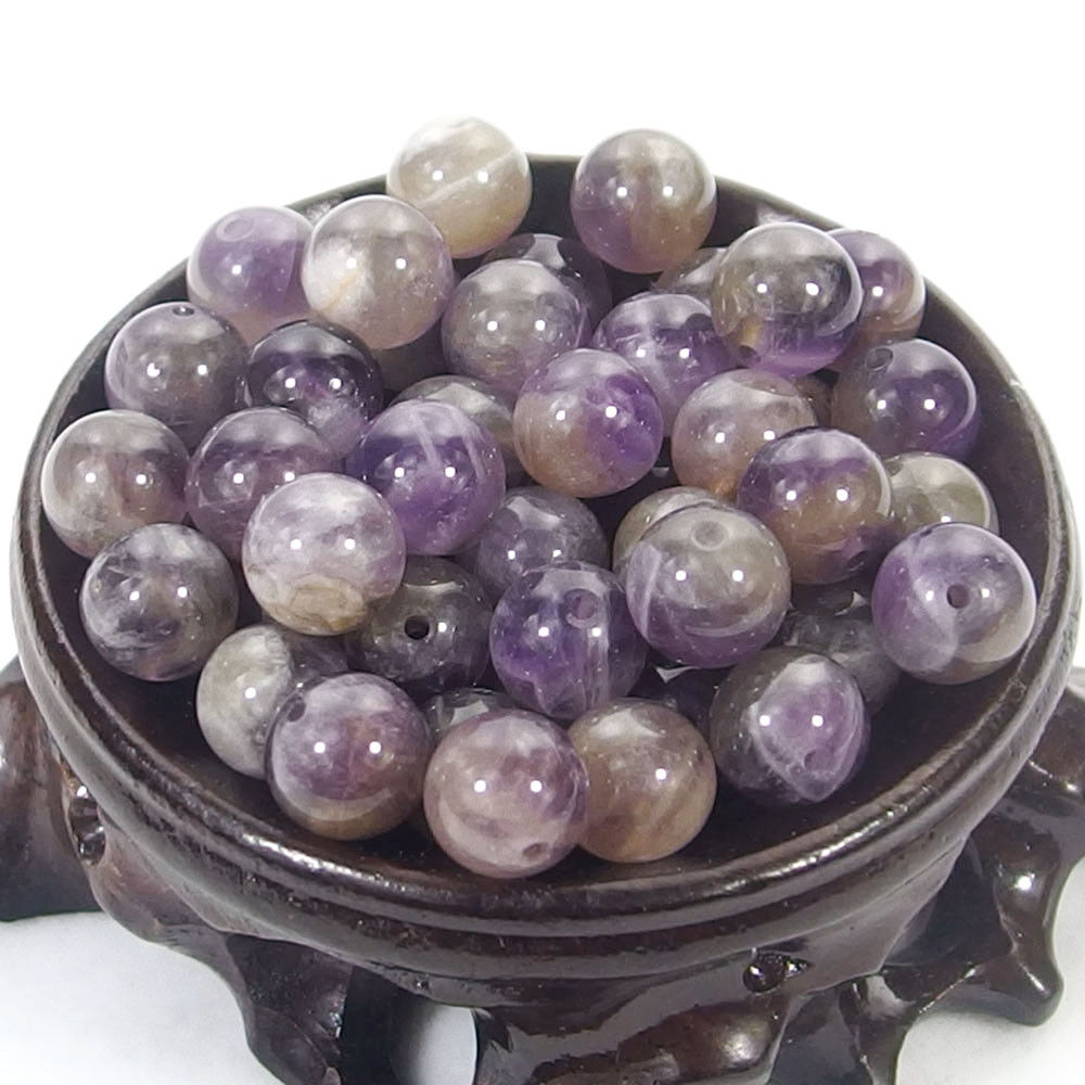 Bulk Gemstones I natural spacer stone beads 4mm 6mm 8mm 10mm 12mm jewelry design Amethyst