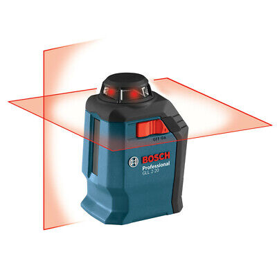 Self Leveling Line Laser - Bosch Self-Leveling 360 Degree Line and Cross Laser GLL2-20S-RT Reconditioned