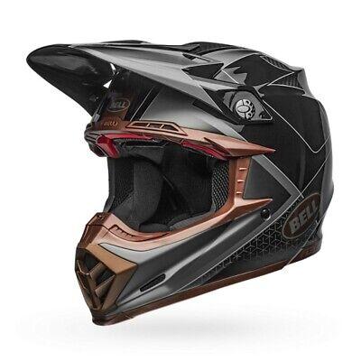lex Hound Mx Offroad Helm Matt/Glanz Schwarz / Bronzene (Hound Helm)