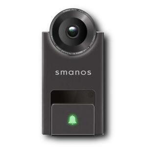 Video Doorbell with Motion Activated Security Camera and Intercom - Monitor and Answer from Smartphone - Smanos DB-20