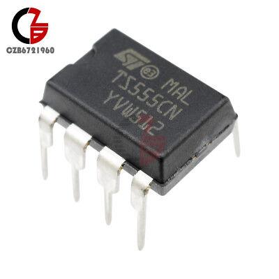 10pcs Ts555cn 555 Dip8 St Ic Timer Low Power Cmos New Cz