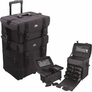 New, Professional Rolling Beauty Case - C6007-NLAB *PickupOnly