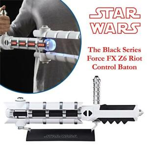 NEW Star Wars The Black Series Force FX Z6 Riot Control Baton Condtion: New, Standard