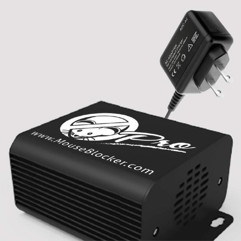 Mouse Blocker PRO 120V (plug in) Ultrasonic Rodent Deterrent