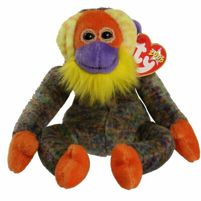 TY Beanie Baby Bananas The Monkey Retired