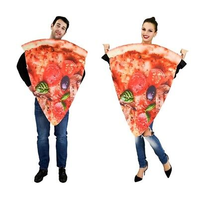 Pizza Halloween-kostüm (Halloween Costumes Pizza Couple Adult Jumpsuit Festival Food Costume Role Play)