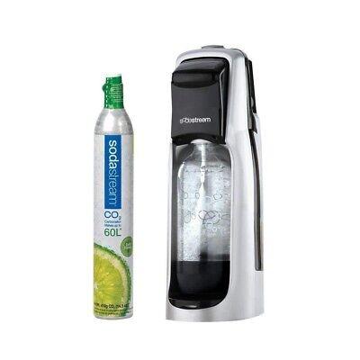 Sodastream Jet Sparkling Water Maker Kit + 60L Carbonator (co2 cartridge)