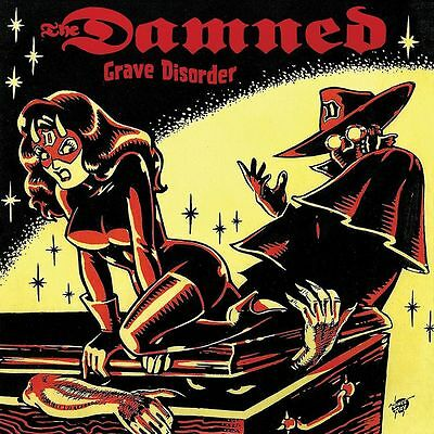 The Damned Grave Disorder Nitro Records New Sealed Vinyl Record Lp