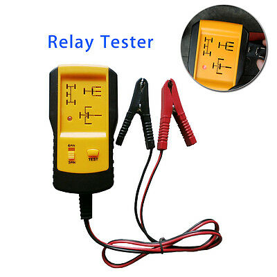 Professional 12v Automotive Relay Tester Car Battery Quick Test Diagnostic Tool