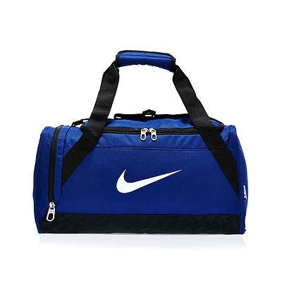 Nike BA4832-411 Brasilia 6 Duffel Bag XS Royal Blue / White