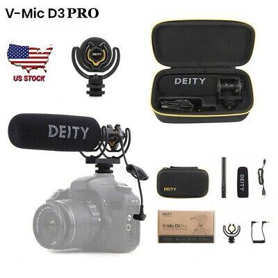 US DEITY V-Mic D3 Pro Broadcast Multipurpose Super Cardioid Shotgun Microphone