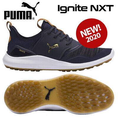 Puma Ignite NXT Men's Golf Shoes Peacoat/Gold/White - NEW! 2020