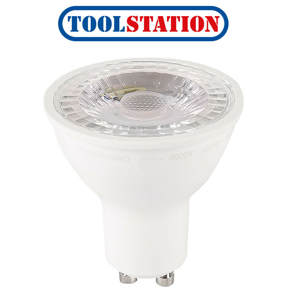 LED GU10 Dimmable Lamp 5W Cool White 370lm