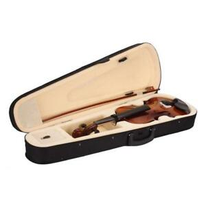 4/4 Full Size Natural Acoustic Violin Fiddle with Case Bow Rosin ( free Shipping)