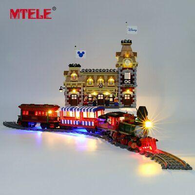 LED Light Up Kit For LEGO 71044 Disney Train and Station Toys Building Blocks