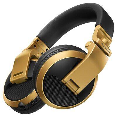 Pioneer HDJ-X5BT Over-Ear DJ Headphones w/ Bluetooth Wireless Technology (Gold)