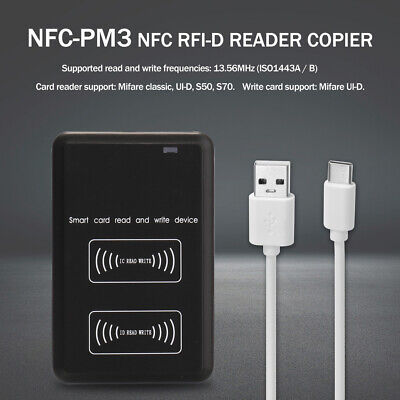 Nfc-pm3 Rfi-d Copier Ic I-d Reader Writer Duplicator Full Decode Function D7v3