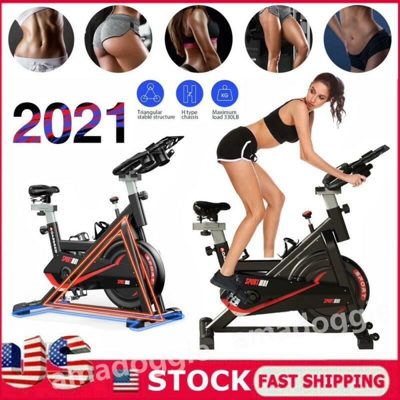 Exercise Stationary Bike Bicycle Cycling Home Gym Cardio Workout Indoor Fitness - $139.00