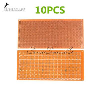 10pcs 10x22cm Copper Prototype Soldering Pcb Board Single Side Universal 2.54mm