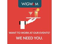 Events/Waiting/Kitchen Staff needed for key events in Leicester