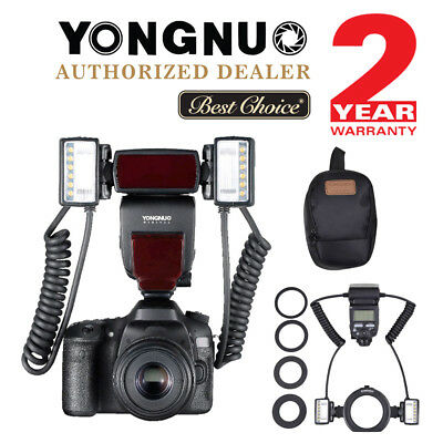 Yongnuo YN24EX TTL Macro Master Speedlite With Adapter Ring For Canon  segunda mano  Embacar hacia Argentina