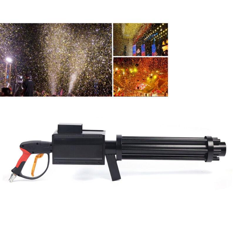YS-C8 Handheld CO2 Confetti Gun CO2 Smoke Atmospheric Effect LED Color Paper Gun