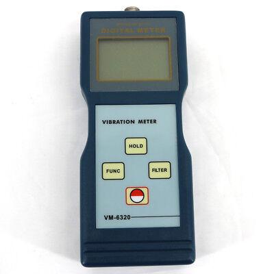 Portable Vm-6320 Digital Vibration Tester Meter Vibrometer Velocity0.01200mms