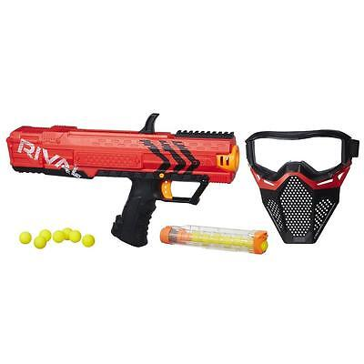 Nerf Rival Apollo Xv-700 And Face Mask Red