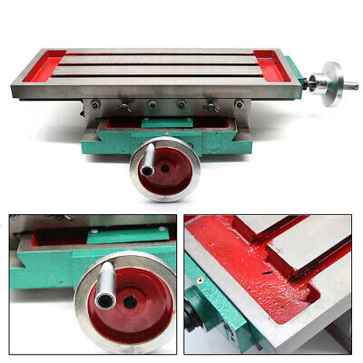 Milling Machine Compound Work Table Cross Slide Milling Support Table X Y Axis